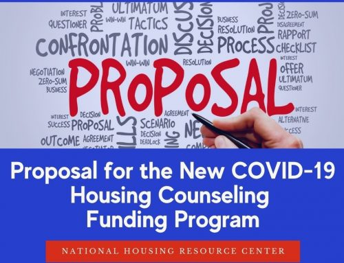 Proposal for the New Covid-19 Housing Counseling Funding Program