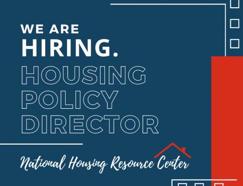 Housing Policy Director – Job Description