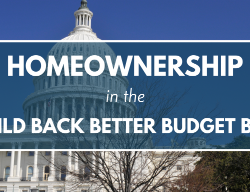 Homeownership in the Build Back Better Bill